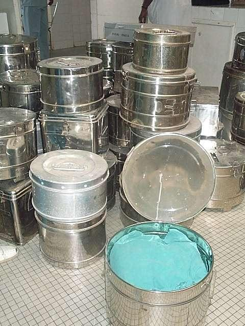 The Sterile Supply Cyle - Packaging: Sterilizing drums are only suitable as additional mechanical protection (secondary packaging)